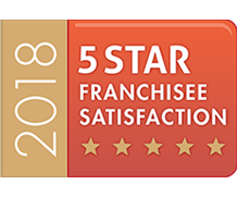 5 star franchisee satisfaction 2018