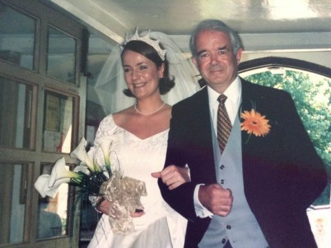2-clare-jefferies-with-dad-mike-dawson-on-wedding-day