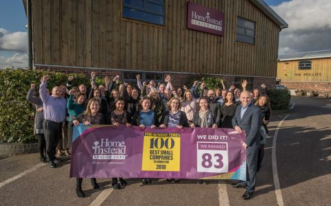 Sunday Times Best Small Company Winner – Home Instead