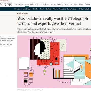 Home Instead's CEO Martin Jones in The Telegraph