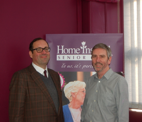 MP Richard Harrington shows his support for Home Instead