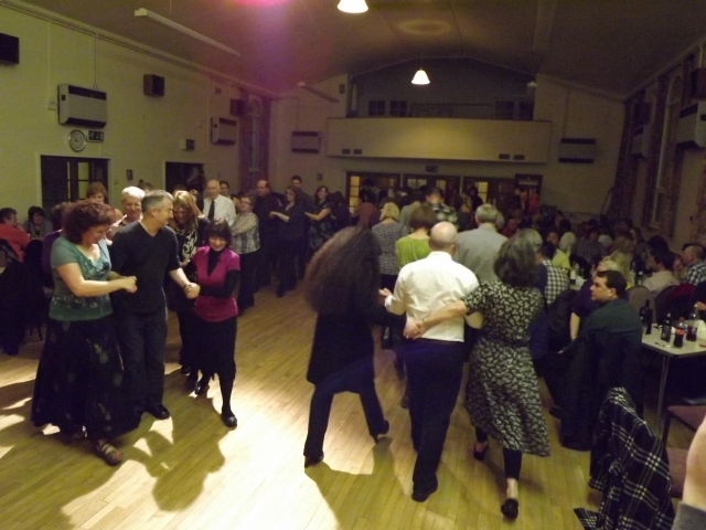 Over 100 guests joined the 'Highland Fling'