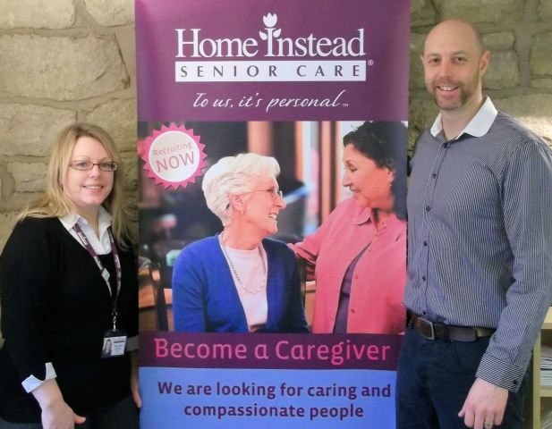 Debra Sparks (Recruitment & Retention Manager) & Mick Sheehan