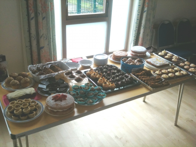 A Selection of the Treats Created by the Home Instead team