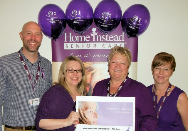 Home Instead management team support WEAAD