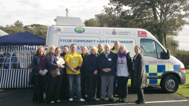 Support organisations and local charities join together