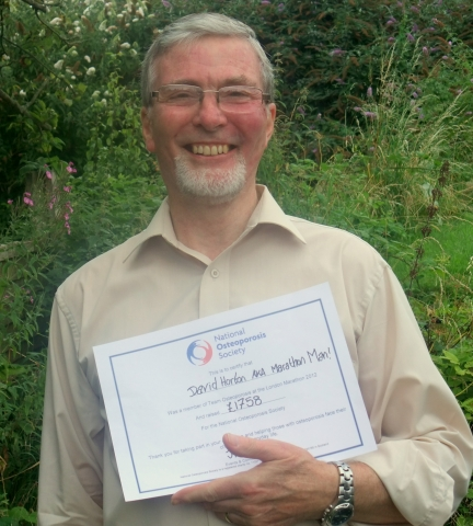 David, Semi-finalist for 'CAREGiver of the Year 2012'