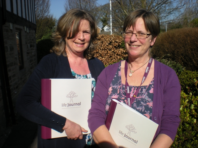 2 of our new dementia specialists, Janet and Fiona