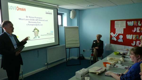 Dr S.Frampton #TalksDementia at our last Free workshop