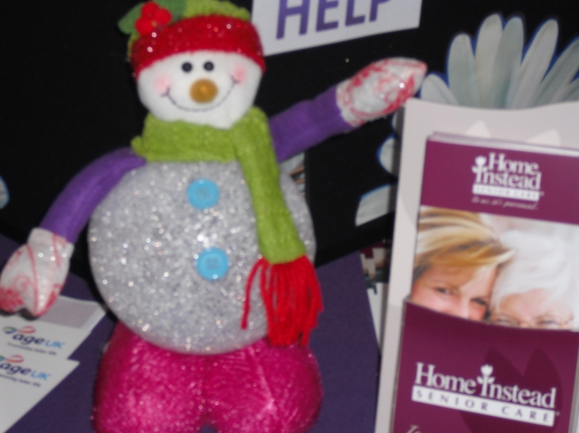Avoid Trips and Falls with Home Instead and Frosty T Snowman