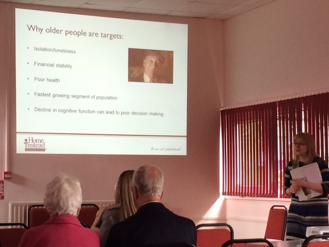 Gnosall Fraud Protection Talk
