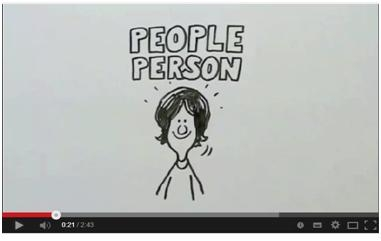 A snapshot of our current 'Doodle' recruitment video