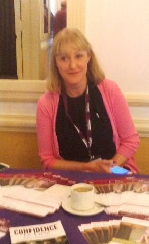 Tara Mcphee, Director with our Home Instead Stand at Conference