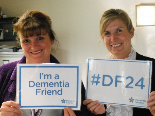 Gail & Jessica at Home Instead #DF24