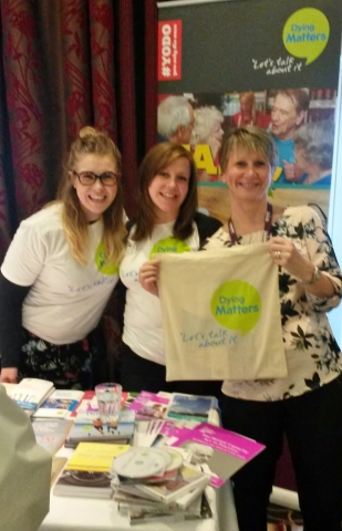 Beth and Kate from National Council for Palliative Care (NCPC)