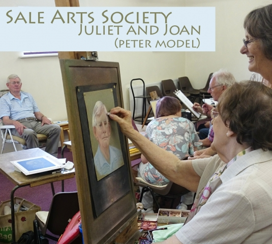 Sale Arts Society Portrait group part of our What's on Where guide to Sale