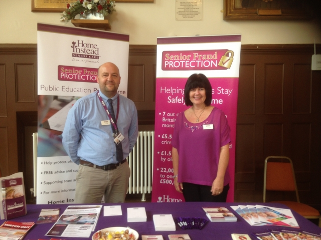 Jason and Heather at the GRCC event in Cirencester