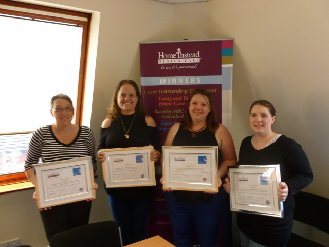 Care Certificate Awards