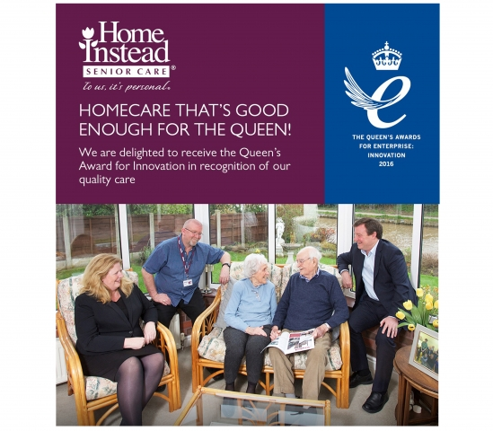 Home Instead Awarded the Queen's Award for innovation