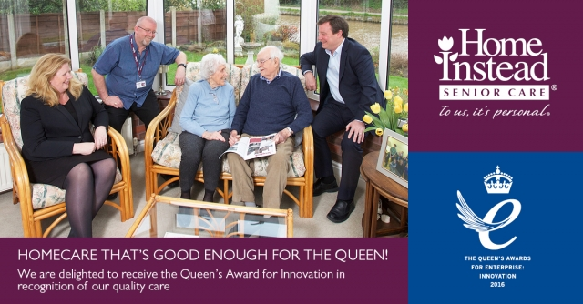 Home Care Good Enough for the Queen!