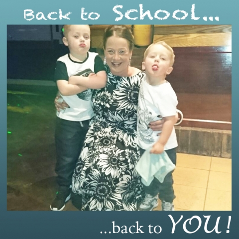 Kim a fantastic CAREGiver and mum with her two boys!