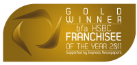 Gold Winner - bfa HSBC Franchisee of the Year 2011