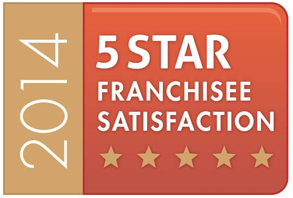 2014 5 Star Franchisee Satisfaction logo