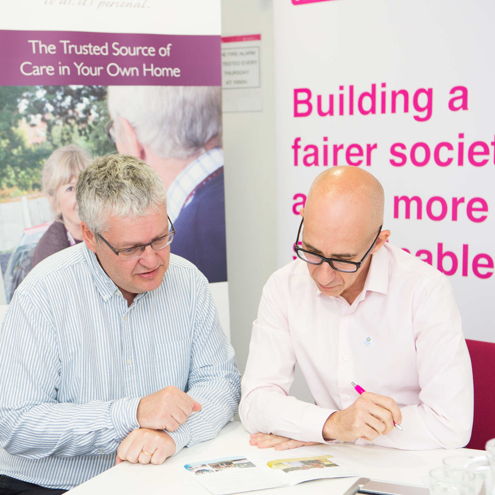 Members of BITC's Age at Work Leadership Team in Home Instead Senior Care London headquarters
