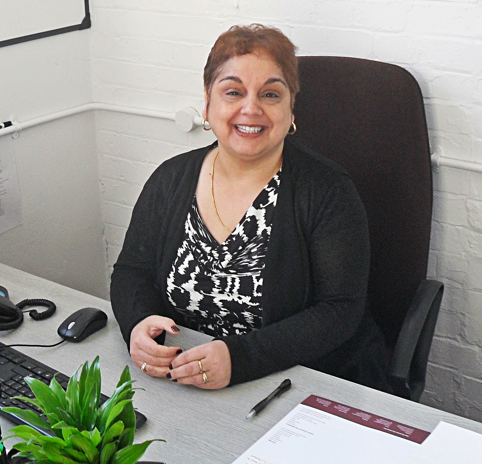 Newly appointed Home Instead Wandsworth Care Manager Ann Marie Warna