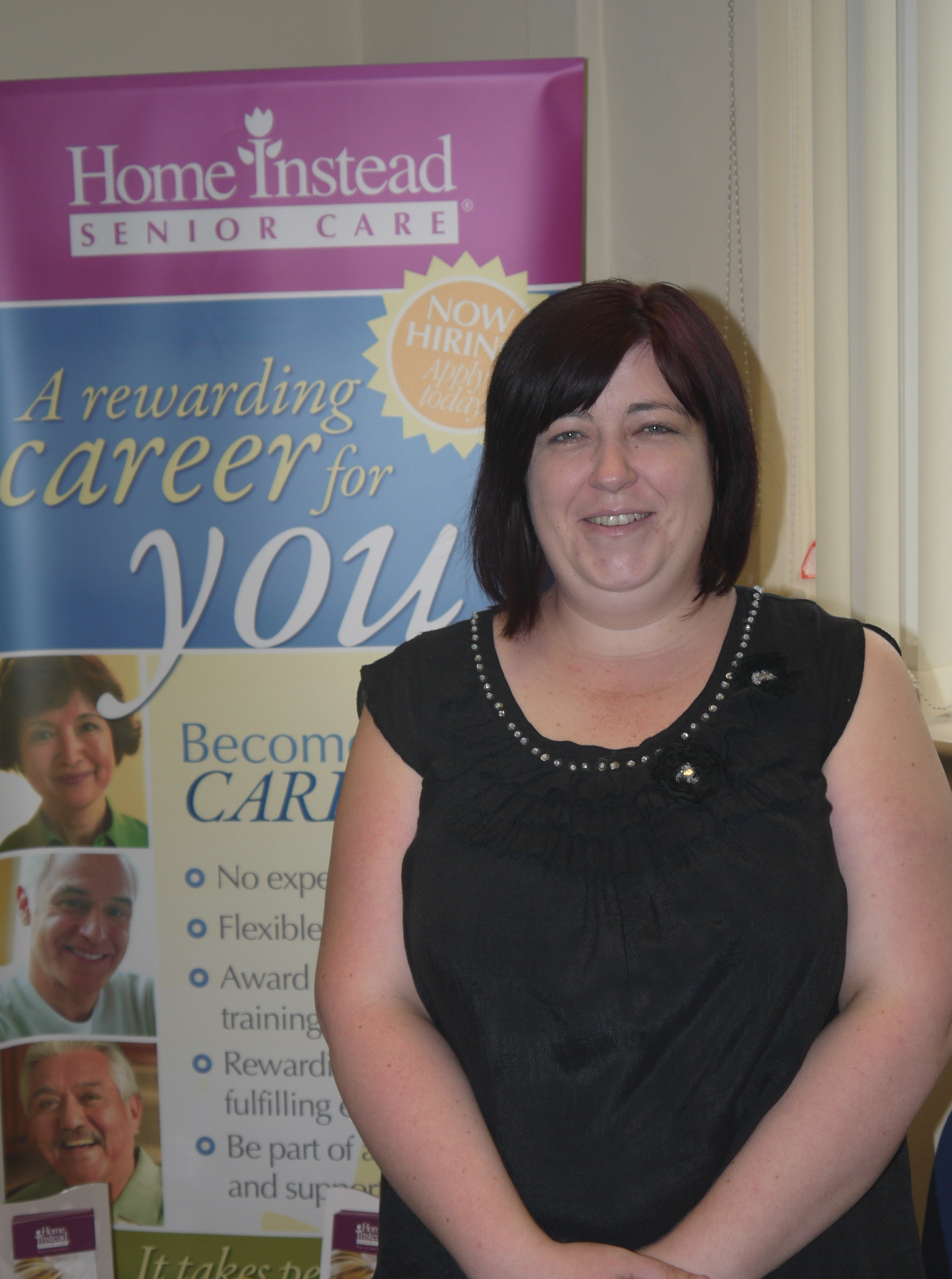 Home Instead newly appointed community liaison manager, Becky Houghton