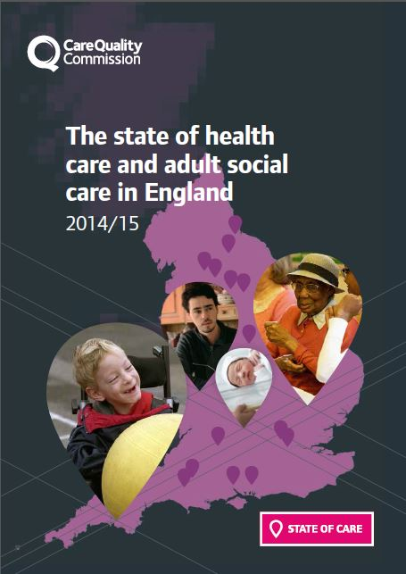 Care Quality Commission's State of Care 2014/2015 report