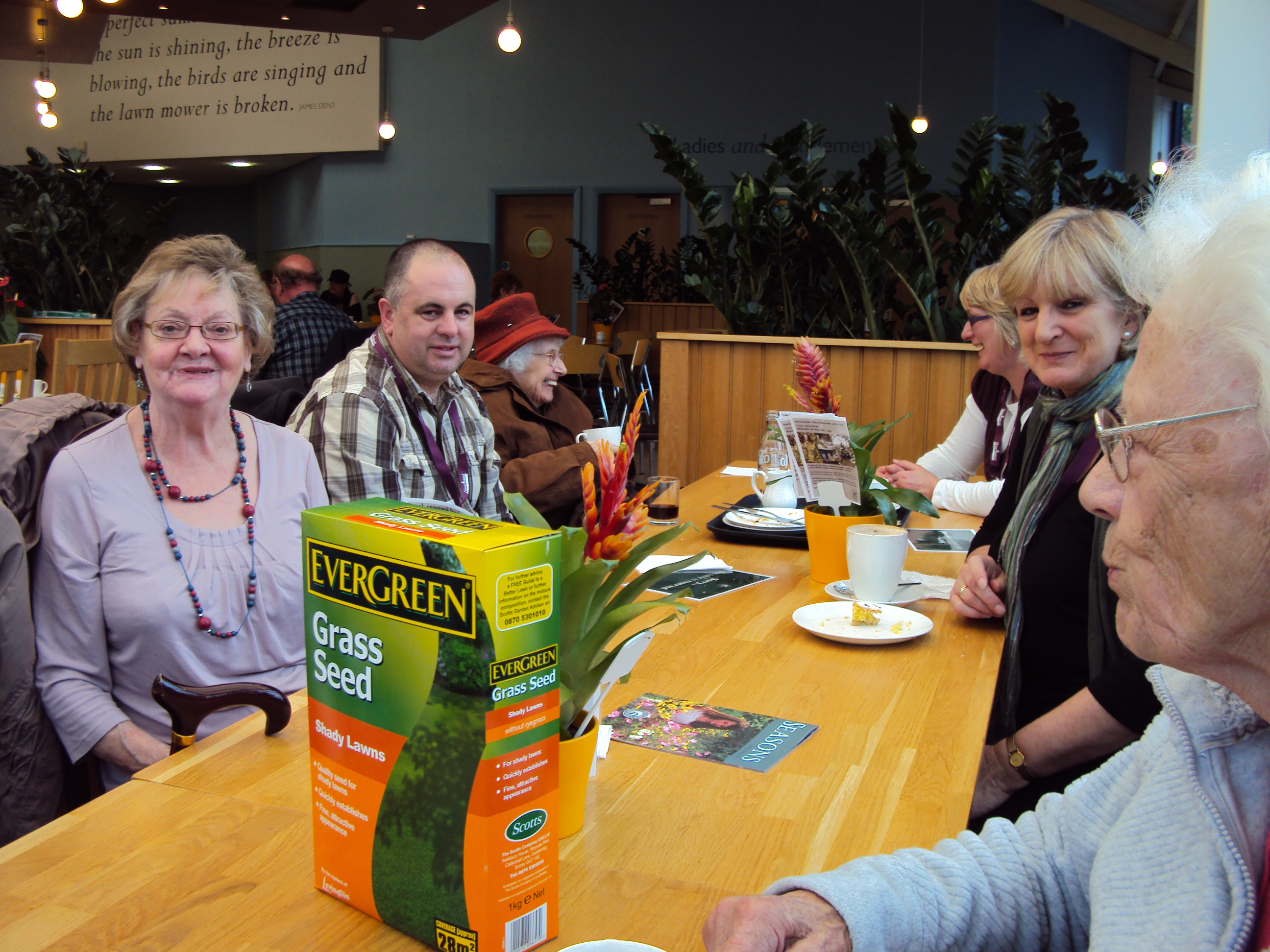 Tea, Laughter and Company event organized by Home Instead Halton for local residents in Frodsham