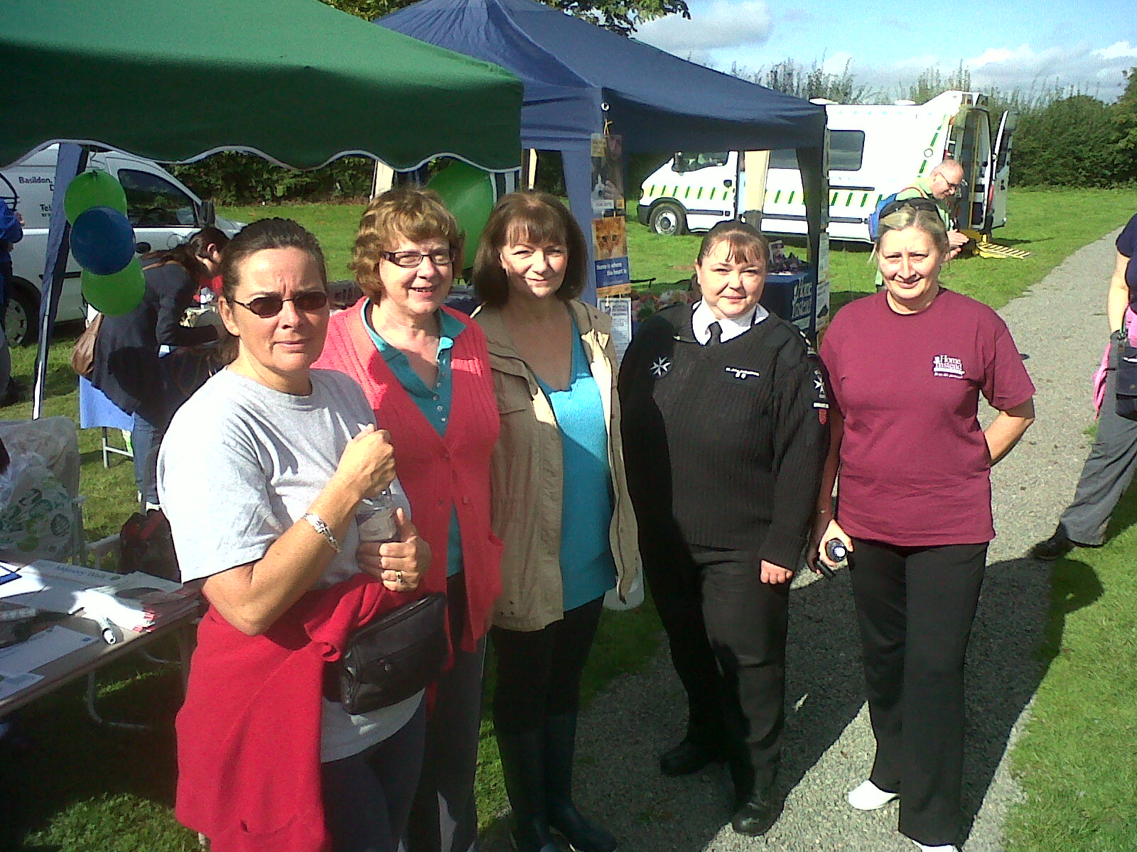 Home Instead Senior Care Brentwood team members at the Alzheimer's Society Memory Walk