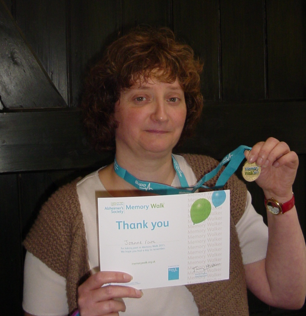 Great West Midlands Dementia Carer award finalist and local Home Instead CAREgiver Jo Farn