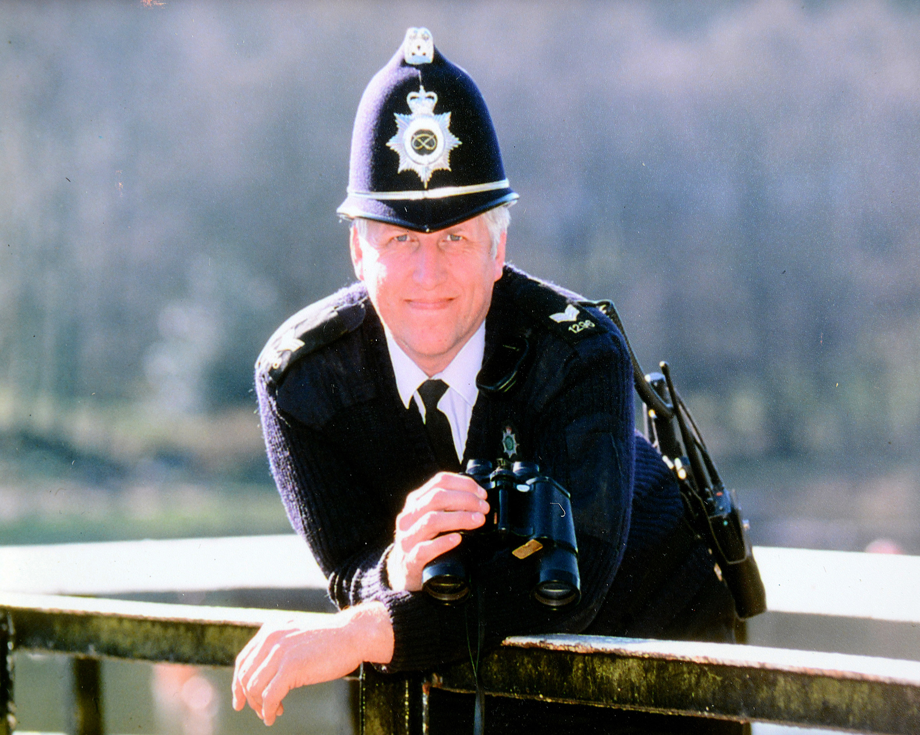 Former police sargeant and current reigning CAREGiver of the Year Keith Alldritt at Home Instead Senior Care Newcastle under Lyme office