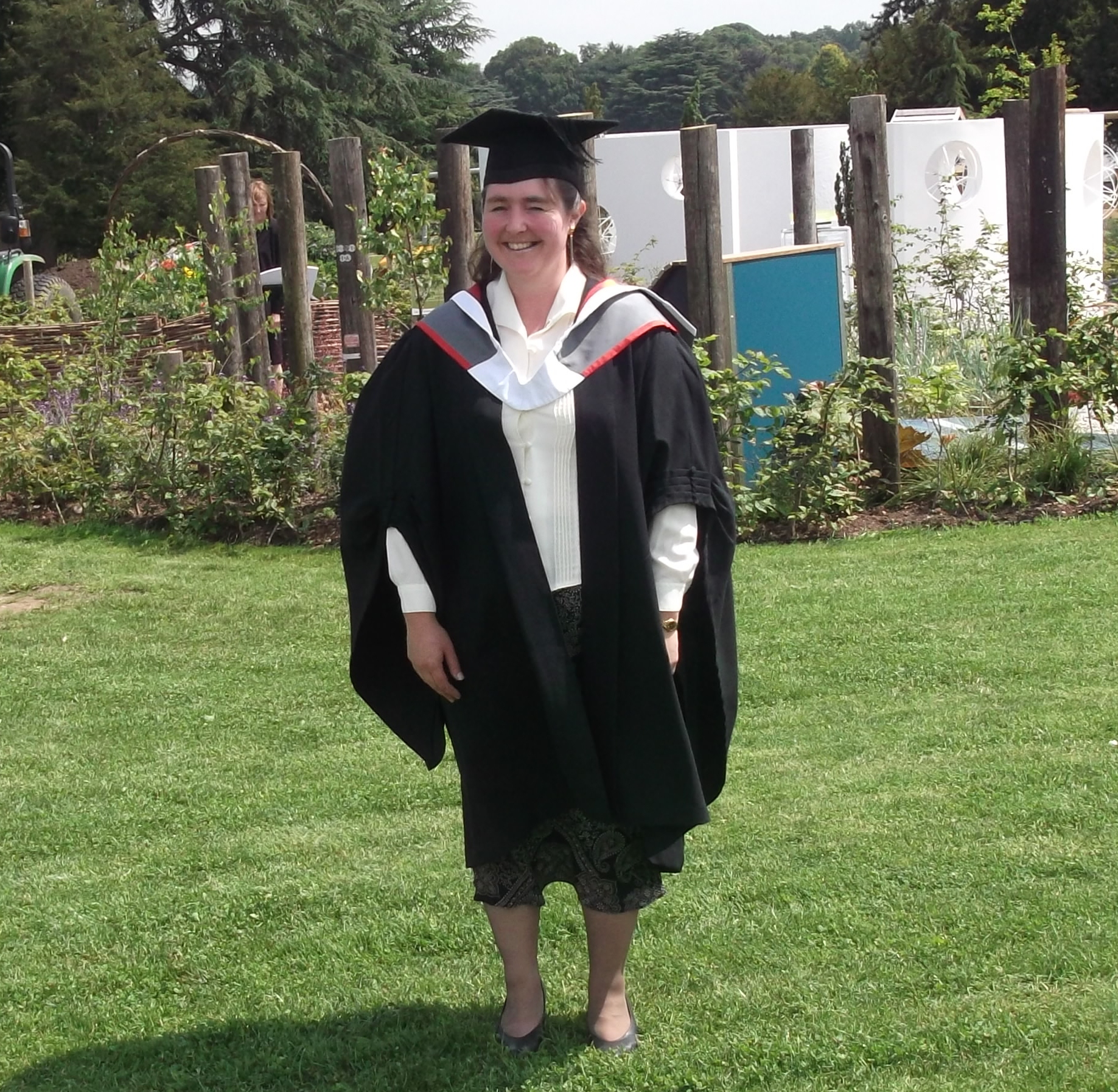 Home Instead Newcastle-Under-Lyme CAREgiver Marie Brain obtaining her Foundation Degree in Complementary Therapy