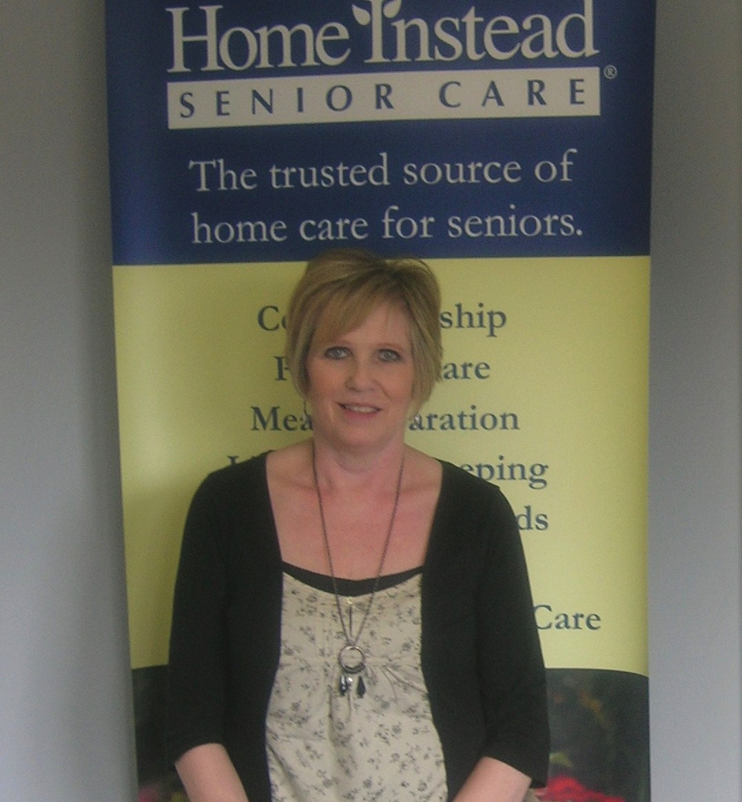 Home Instead Senior Care Brentwood newly appointed Recruitment and Retention Co-ordinator Marie Morrison