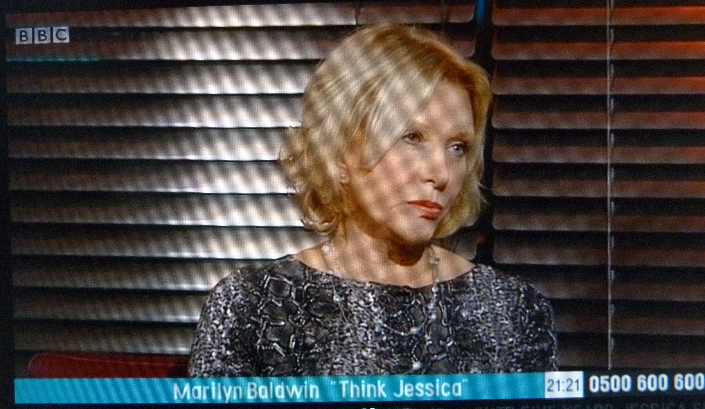Marilyn Baldwin, founder of Think Jessica, working with Home Instead Senior Care to raise awareness of senior fraud issues