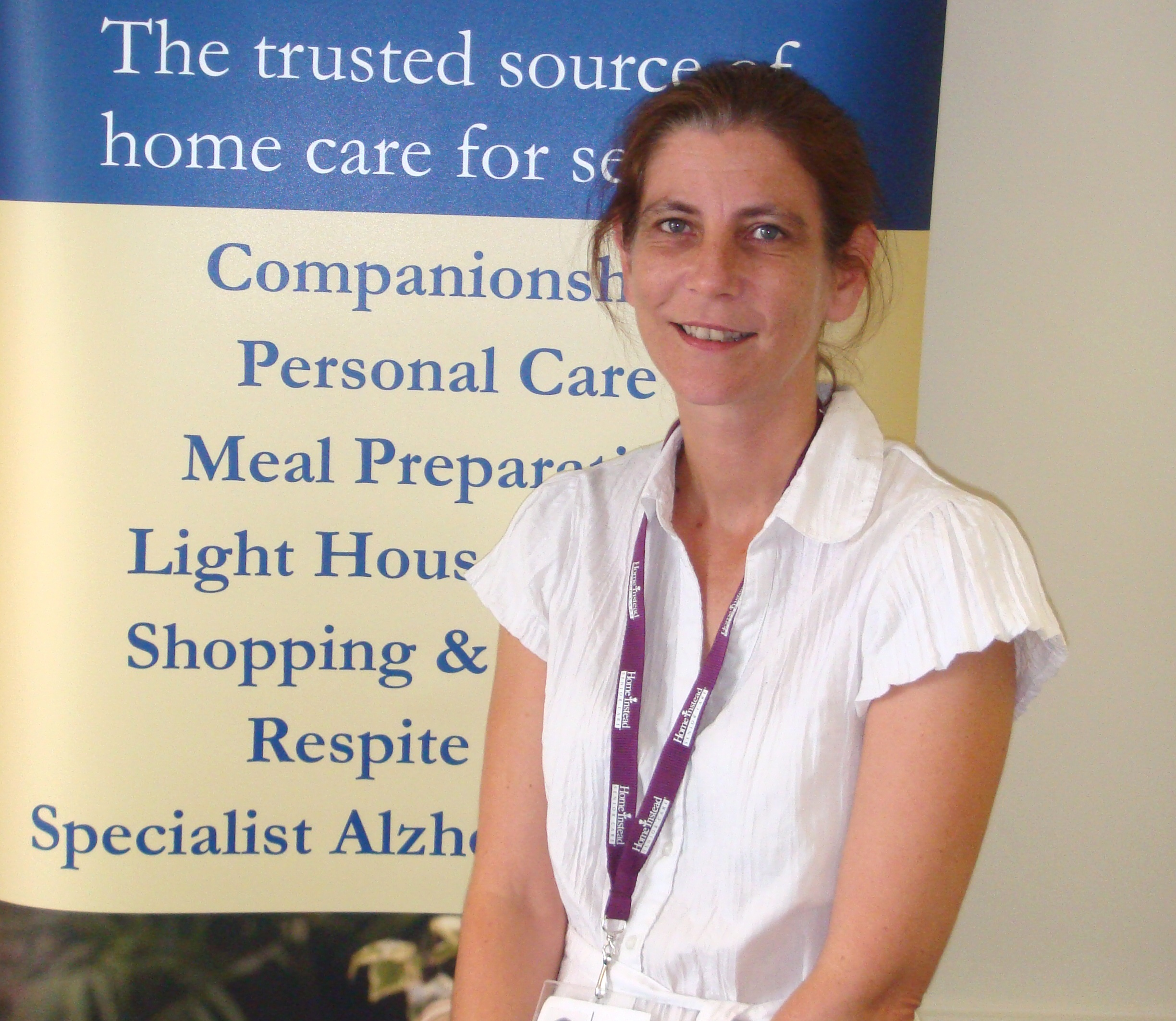 Home Instead Waltham Forest newly appointed Care Manager, Mary Pearson