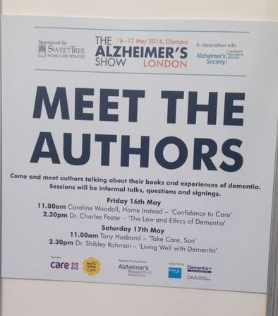 The Alzheimer's Show's Meet the Authors poster