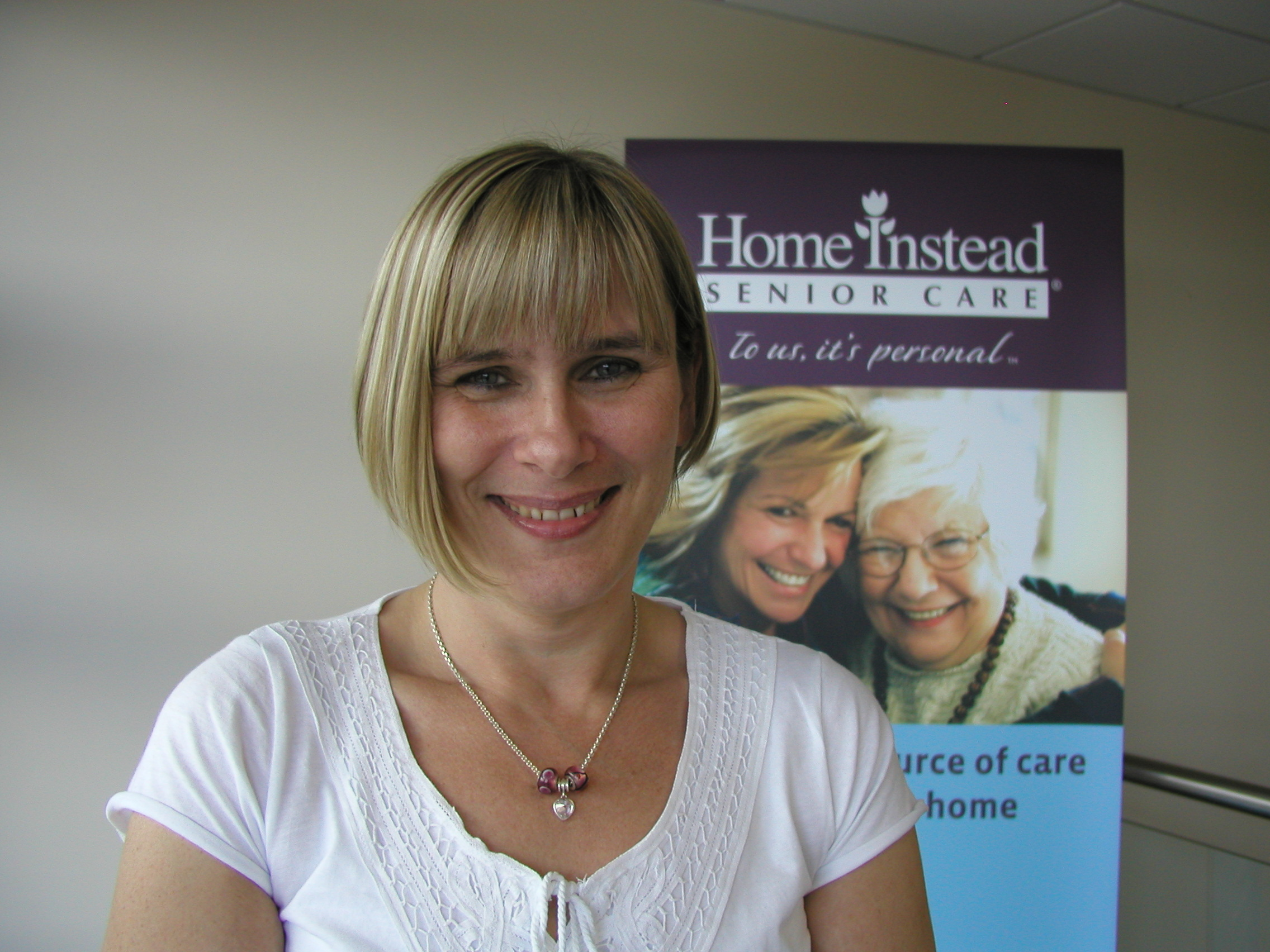 Home Instead Senior Care Harrogate, Ripon and Thirsk newly appointed Care Manager Deborah Lewin