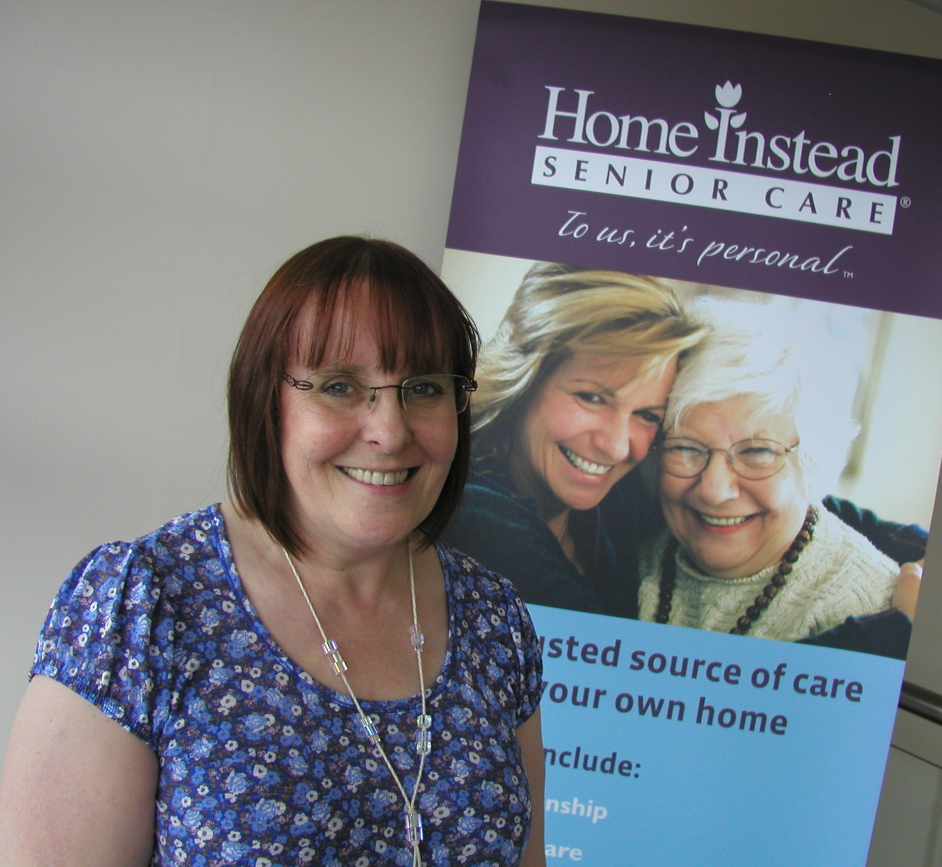 Home Instead Senior Care Portobello newly appointed Care Manager, Jacqui Donachi