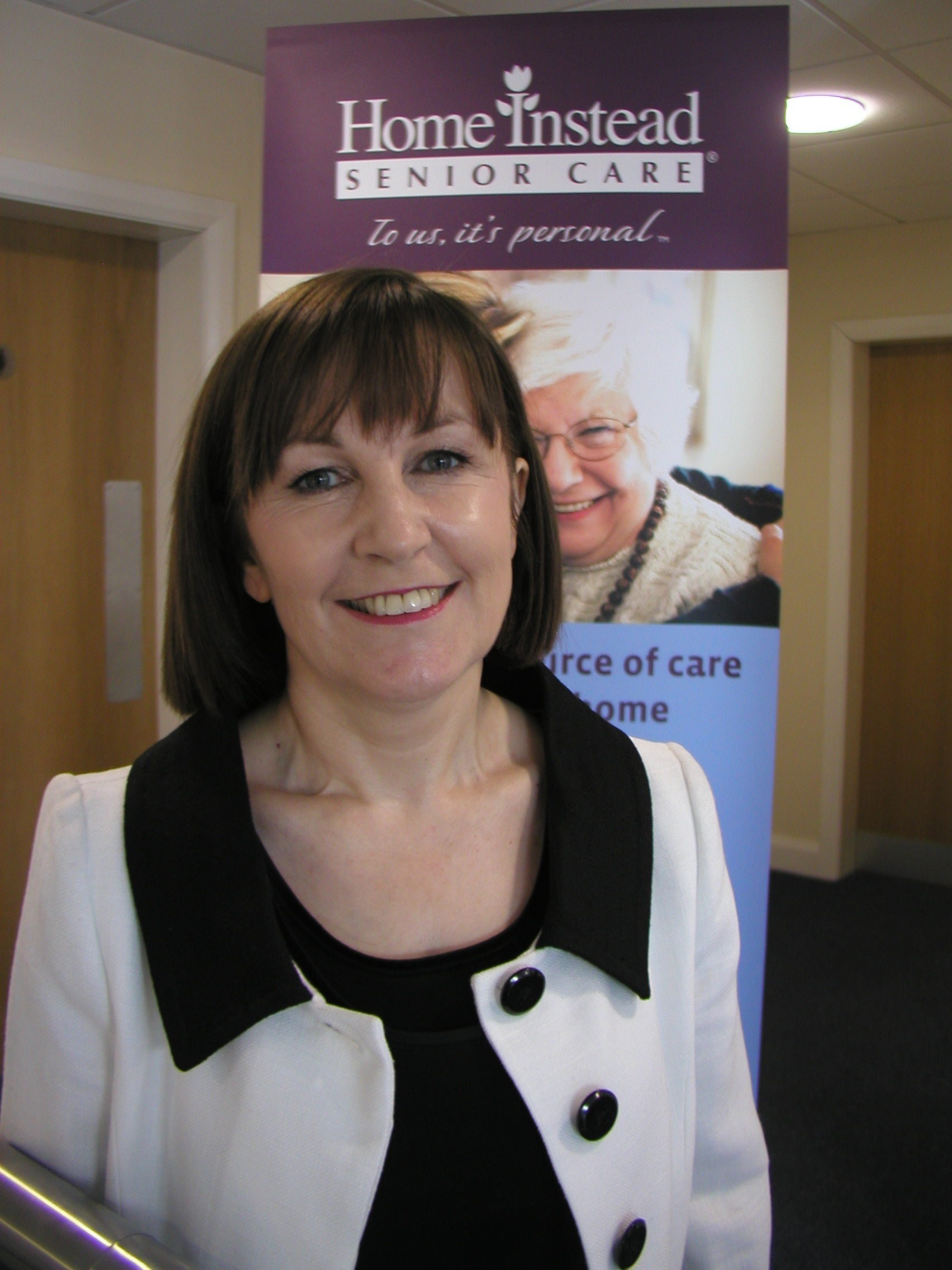 Home care business owner Pearl Blakemore