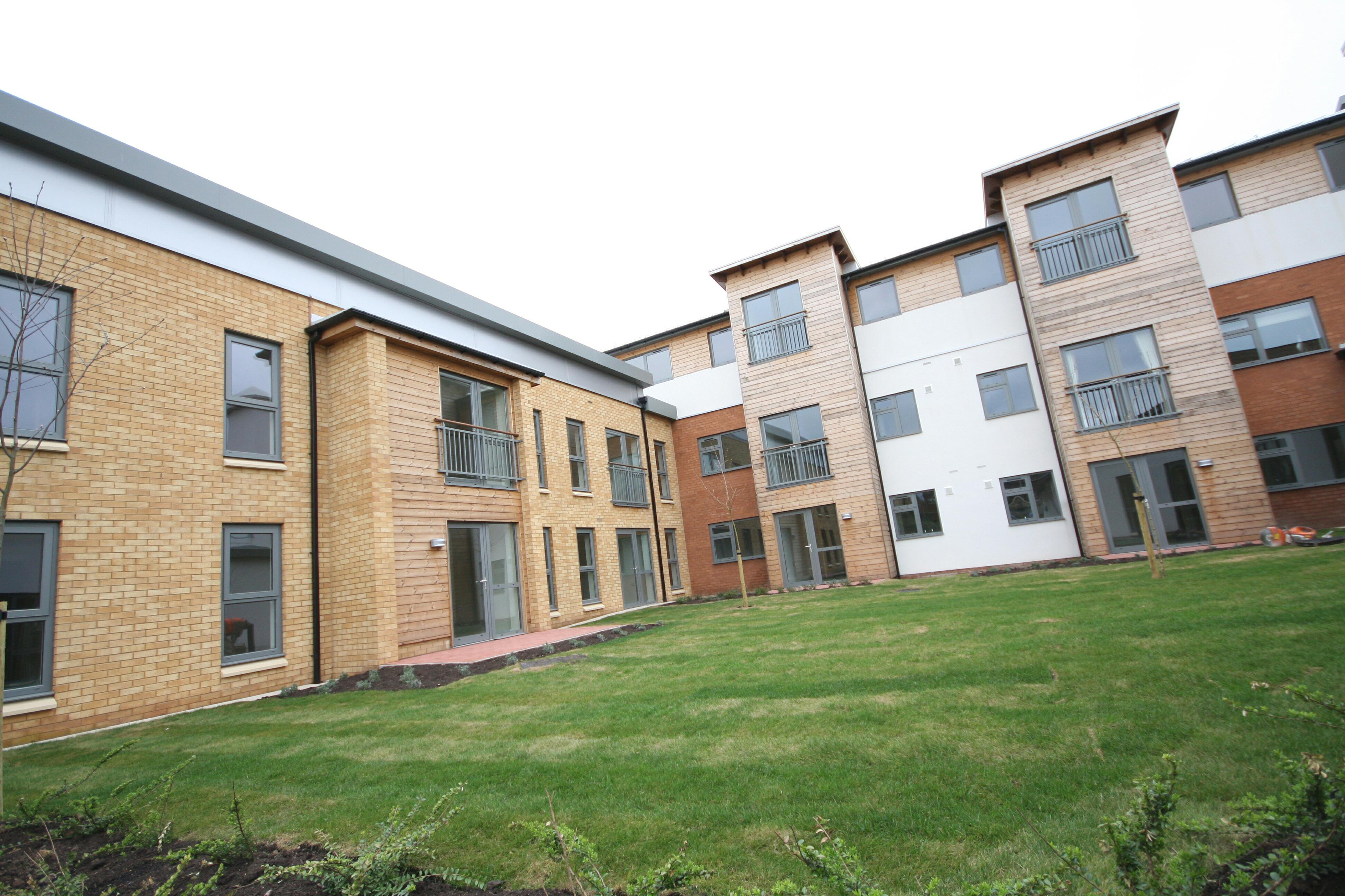 'Pickmere', Wulvern's 'retirement' apartments in Crewe where Home Instead will be operating on-site 24/7