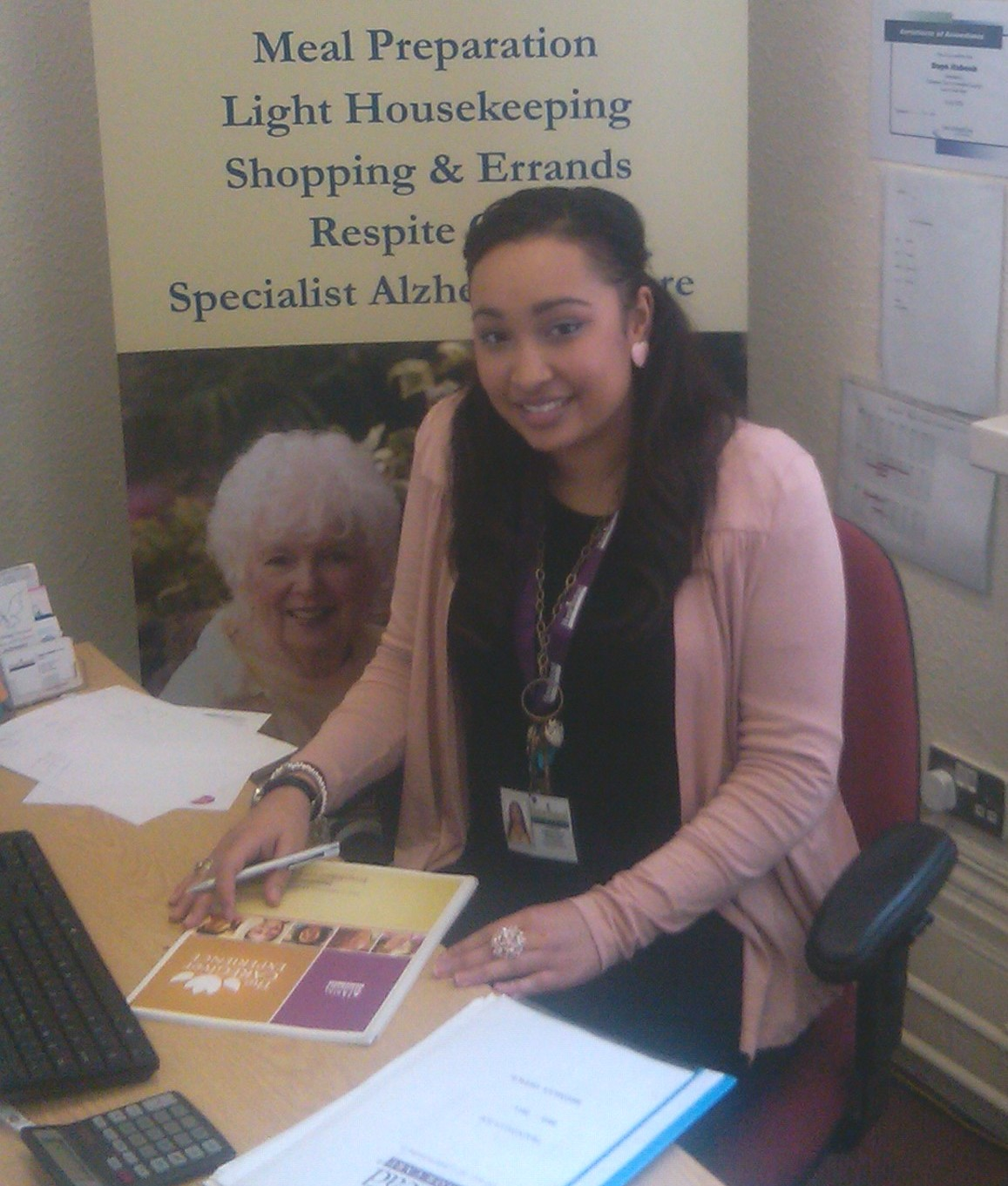 Home Instead Senior Care Bromley newly appointed Recruitment and Retention Officer, Ramona Dollie