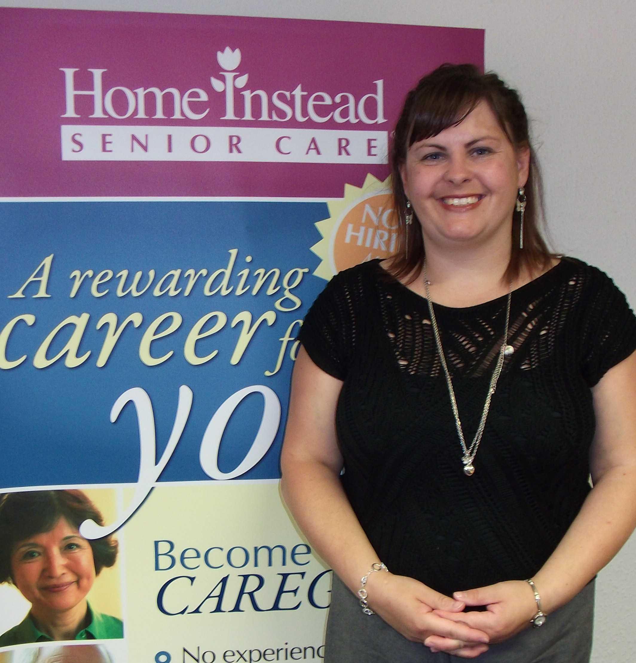 Home Instead Cardiff newly appointed Care Manager Sara Pateras