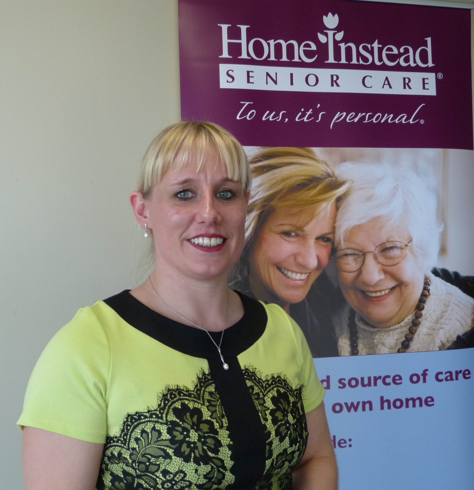 Home Instead Rugby owner Sarah Slater, after receiving the CQC Outstanding rating