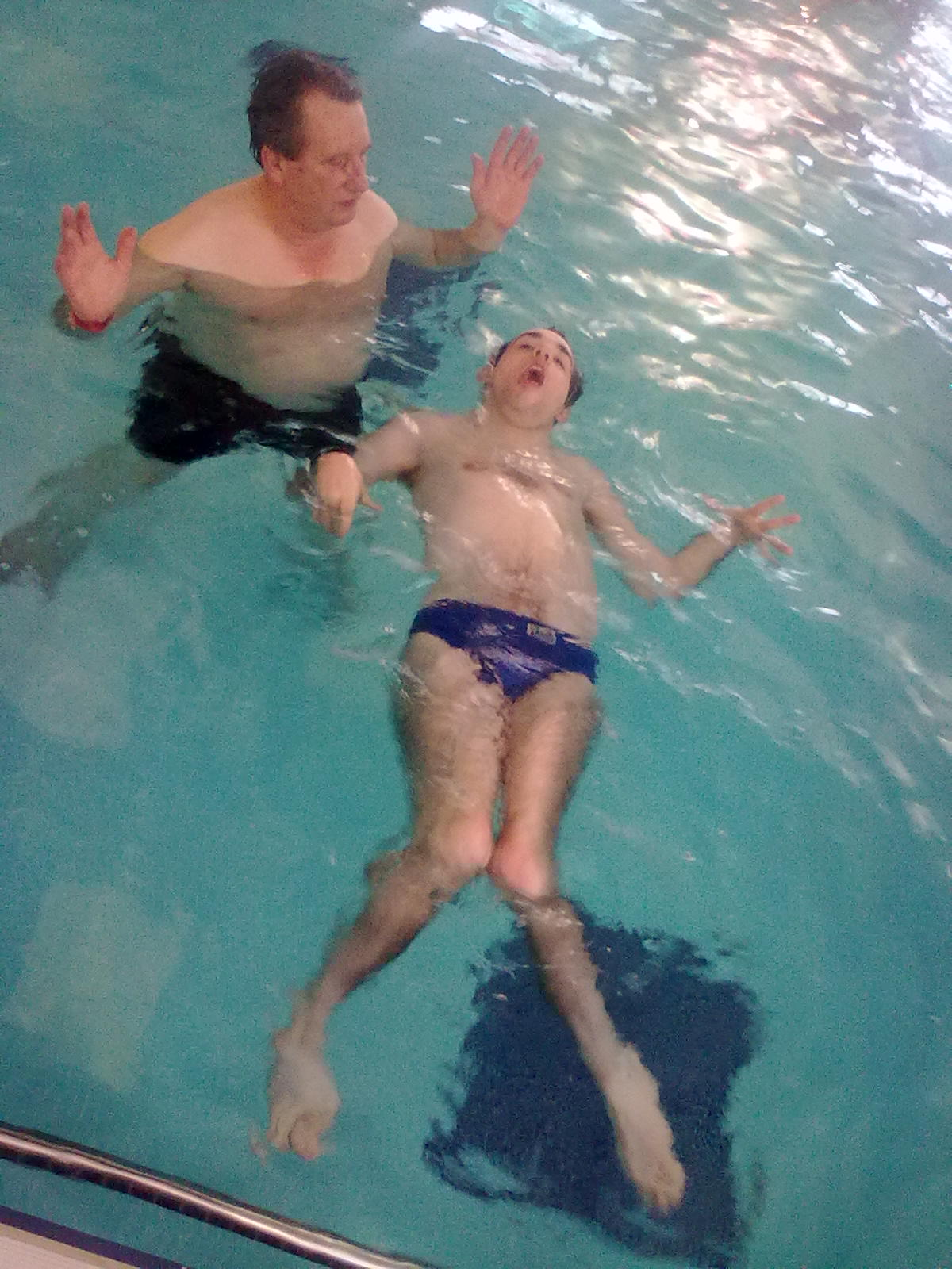 Home instead senior care swimming success for ciaran the world 39 s leading domiciliary care St albans swimming pool timetable