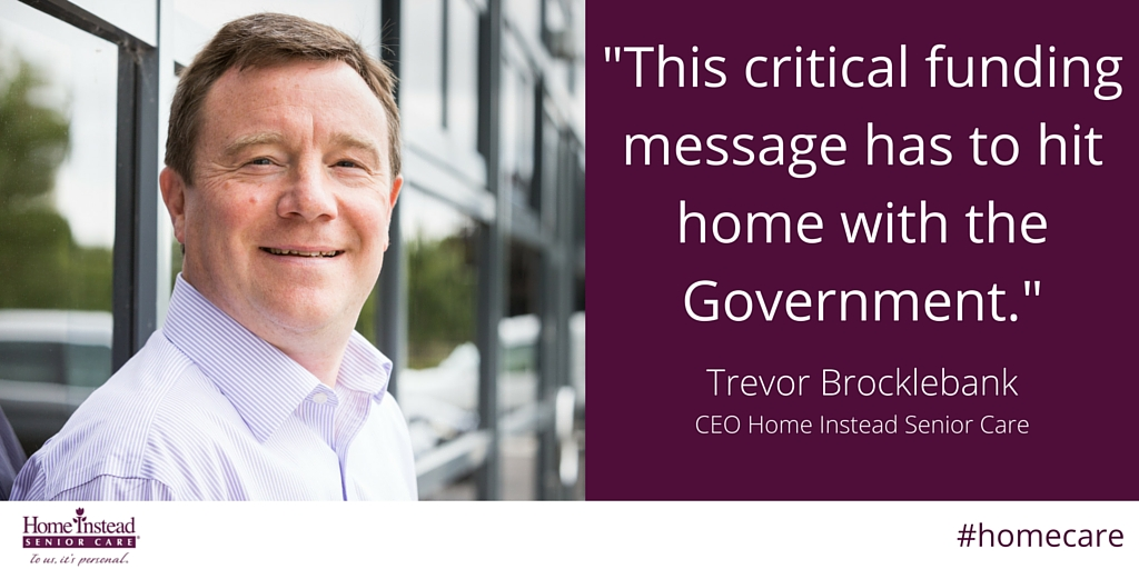 Home Instead Senior Care CEO Trevor Brocklebank