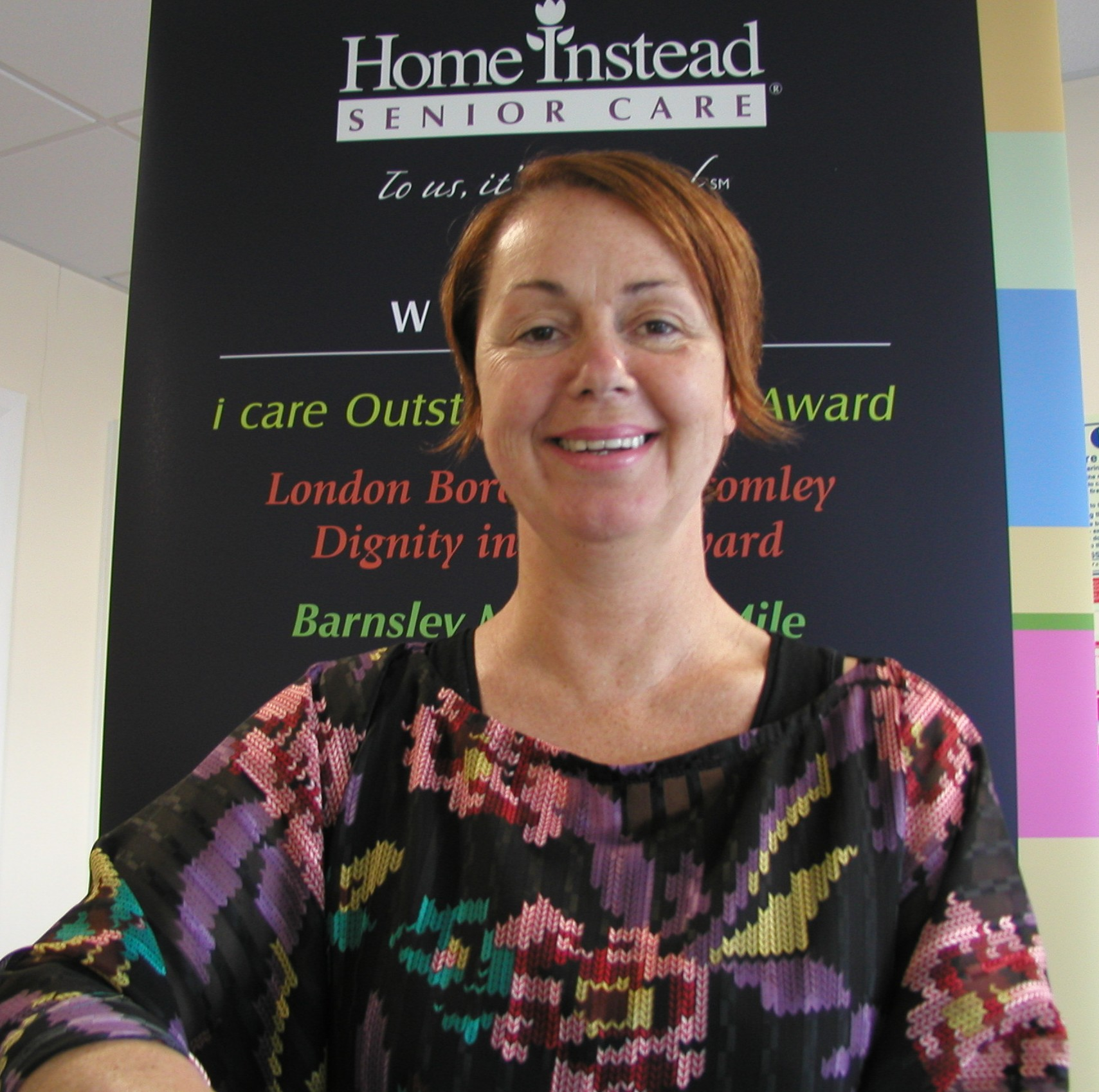 Home Instead Senior Care Manchester owner Tracey Chuwen